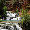Beaver Falls located in Havasupai, Arizona.