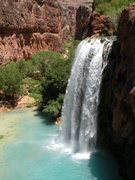 Rock Climbing Photo: Havasu Falls located in Havasupai, Arizona.