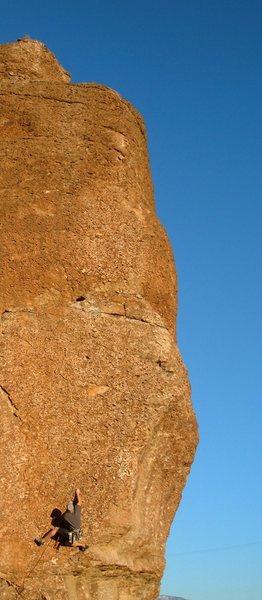 Rock Climbing Photo: Pocket Puzzle- 5.10a