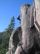 Rock Climbing Photo: The top of Bold is Love. The Prow can be seen in t...