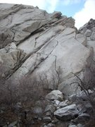 Rock Climbing Photo: Lizard head buttress without route lines drawn in