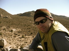 Rock Climbing Photo: Top of Headstone Rock, JTree