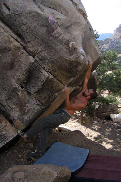 Rock Climbing Photo: I like this one