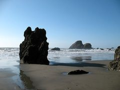 Rock Climbing Photo: Incoming tide and rocks, Houda Point
