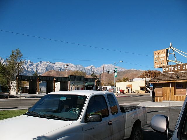 Mt. Whitney from town, Lone Pine