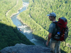 Rock Climbing Photo: Taking in the view from Diamond Point, NRG.