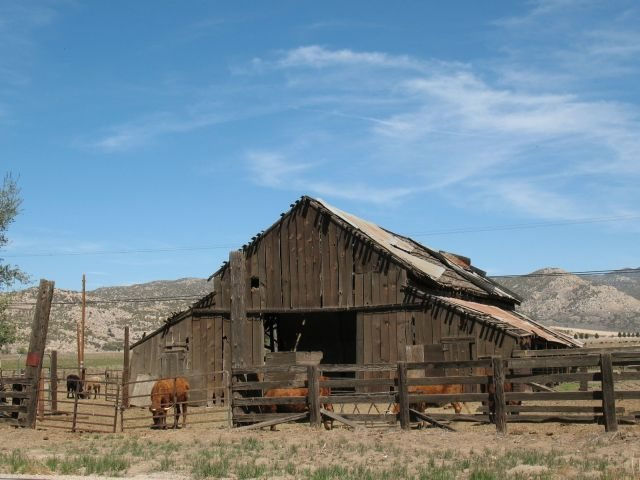 Rock Climbing Photo: Old barn near Aguanga, Riverside County