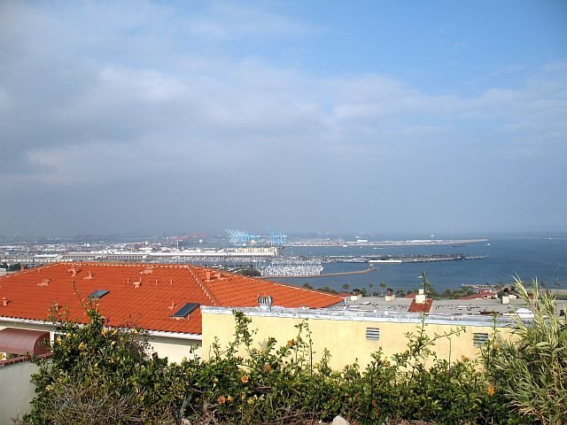 A view of the harbor, San Pedro