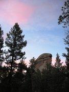 Rock Climbing Photo: North Noddle Head.