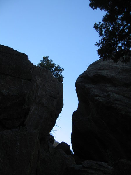 Rock Climbing Photo: If you exit the Amoboid to the south and continue ...