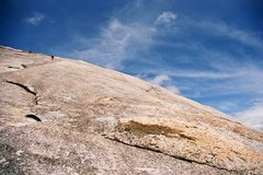 Rock Climbing Photo: ...till we found out the Supertopo was right when ...