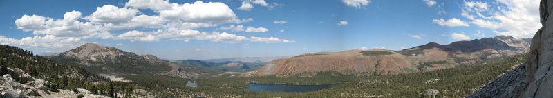 Crystal Crag panorama, Mammoth Lakes Basin