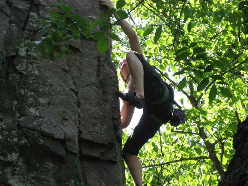 me climbing in palisades
