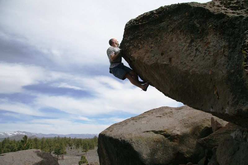 Mike making the commiting finishing moves on Everything and Nothing, V5