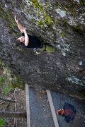 Rock Climbing Photo: Jed Perkins on Silver Streak