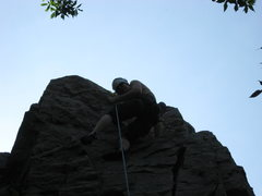 Rock Climbing Photo: the top