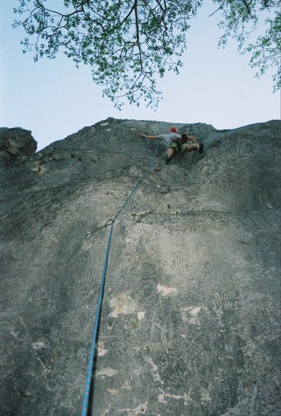 Rock Climbing Photo: Chuck Ashcraft on She Broke It.