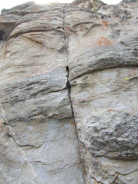 Rock Climbing Photo: The route...