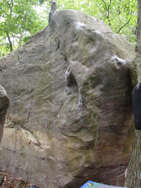 Rock Climbing Photo: Starfish and fun Corner Problem