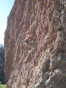 Rock Climbing Photo: Cody on Quackers June 13, 2008.