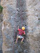 Rock Climbing Photo: Cody gets the clean TR of Rapunzel's Revenge June ...