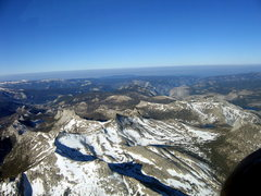 Rock Climbing Photo: Tuolumne high country, with the Valley beyond.  Ju...