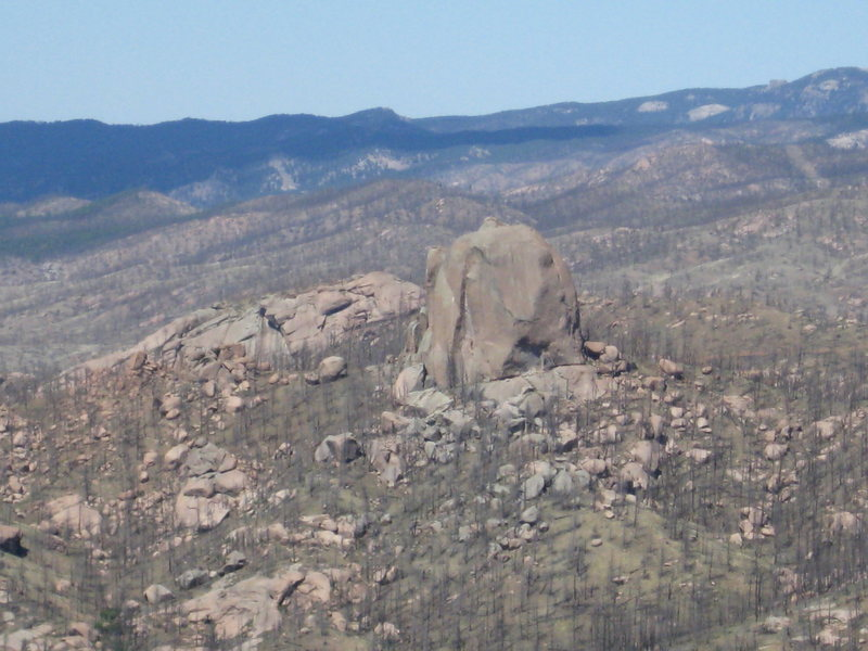 Rock Climbing Photo: The Turret from BRCM.