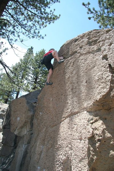 Toping out on Problem J, V1