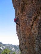 Rock Climbing Photo: DC on JRotten