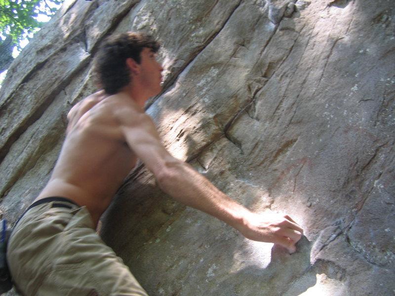 Rock Climbing Photo: After start