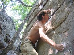 Rock Climbing Photo: again