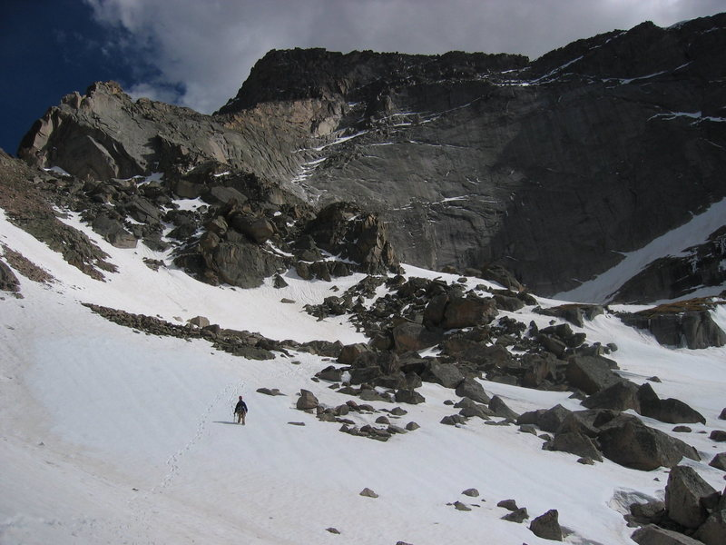 Rock Climbing Photo: Coming down the descent from the Spearhead-Chiefsh...