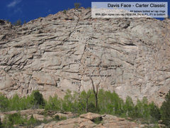 Rock Climbing Photo: Carter Classic route.