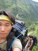 Rock Climbing Photo: Trekking in the Annapurnas (ABC Trail)