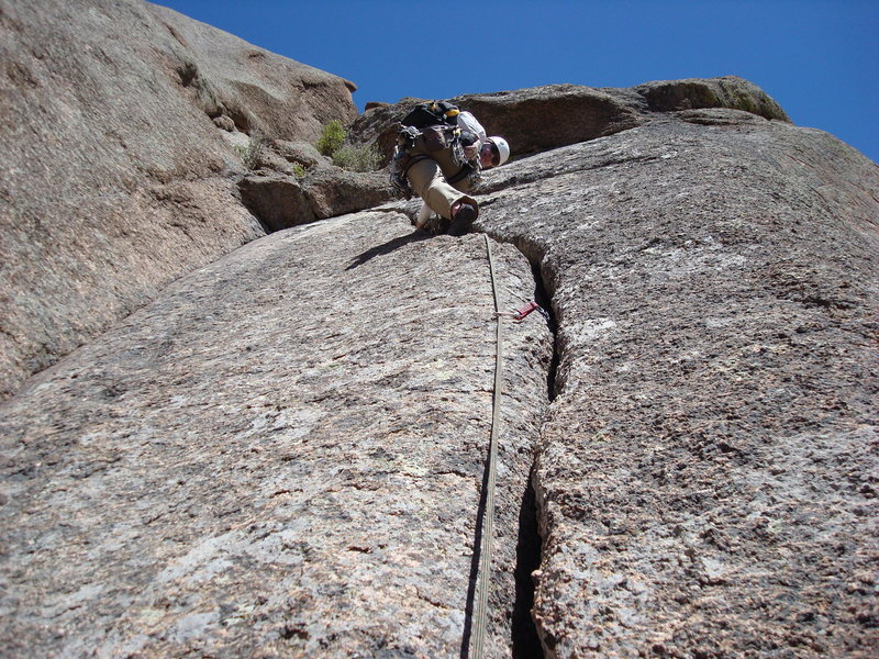 Rock Climbing Photo: Pitch 6.
