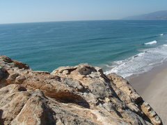 Rock Climbing Photo: The view from the top. My wife and I went in the m...