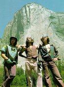 Rock Climbing Photo: Couple of my idols
