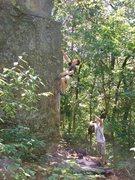 Rock Climbing Photo: Kelsen sending Nameless.