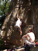 Rock Climbing Photo: Dobbe.