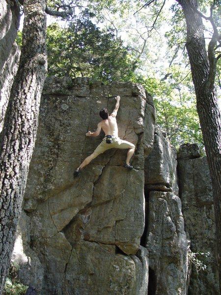 Rock Climbing Photo: Face left.