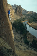 Rock Climbing Photo: Jim A. top roping Jete.