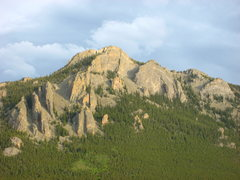 Rock Climbing Photo: The Crags nearing sunset.