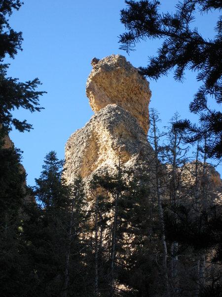 haji rock from the pipe dreams cave.