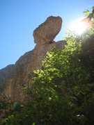 Rock Climbing Photo: this is the view of the tower youll get from near ...