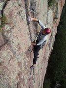 Rock Climbing Photo: Mick Schein on FA.