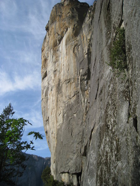 Rock Climbing Photo: Leaning Tower from the descent, right after touchd...