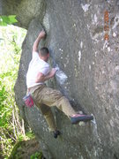 Rock Climbing Photo: Unknown Soilder