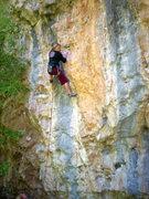 Rock Climbing Photo: Ashley Gann on Left El Sapper.