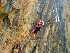 Rock Climbing Photo: Ashley Gann on Never Believe.