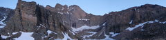 Rock Climbing Photo: The view from chasm lake...